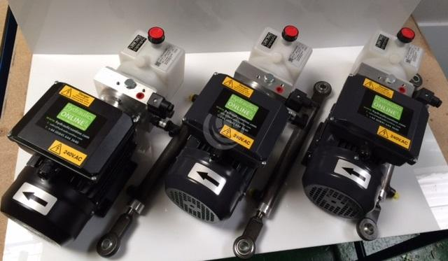 240v Hydraulic Power Packs