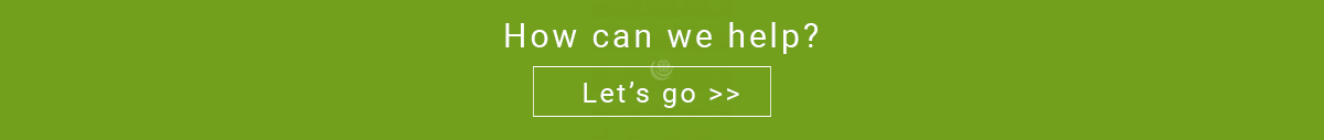 'How can we help' text banner