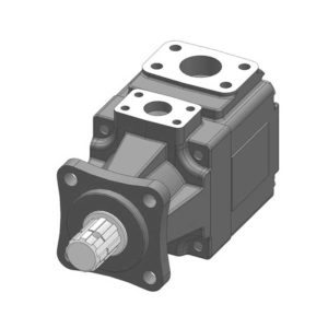 B & C Hydraulics HD Series Vane Pumps