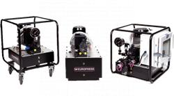 Euro Press Pack modular power packs with 3-phase motors 770 bar - ME, MM, MP and MS series
