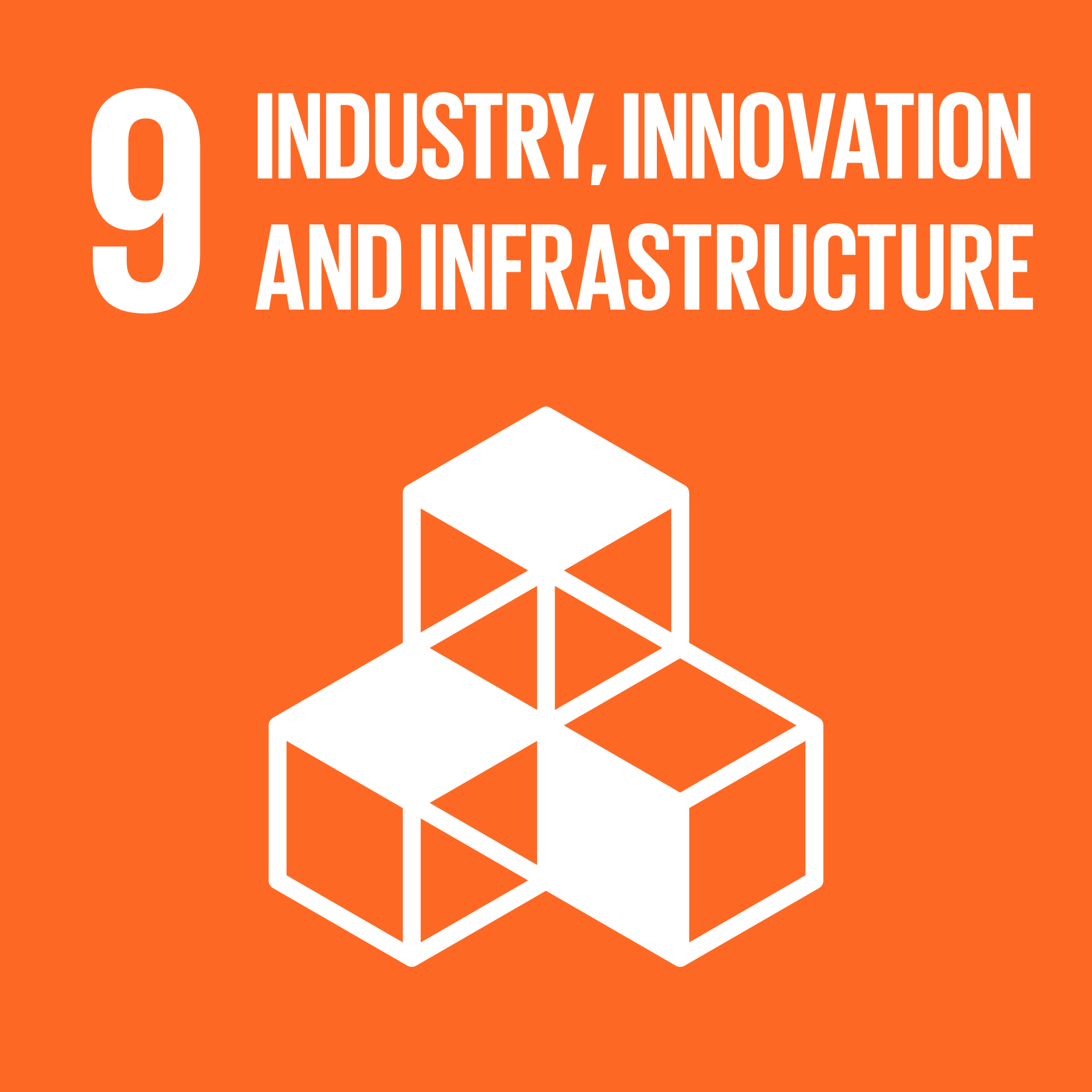 UNSDG 9 Industry Innovation Infrastructure